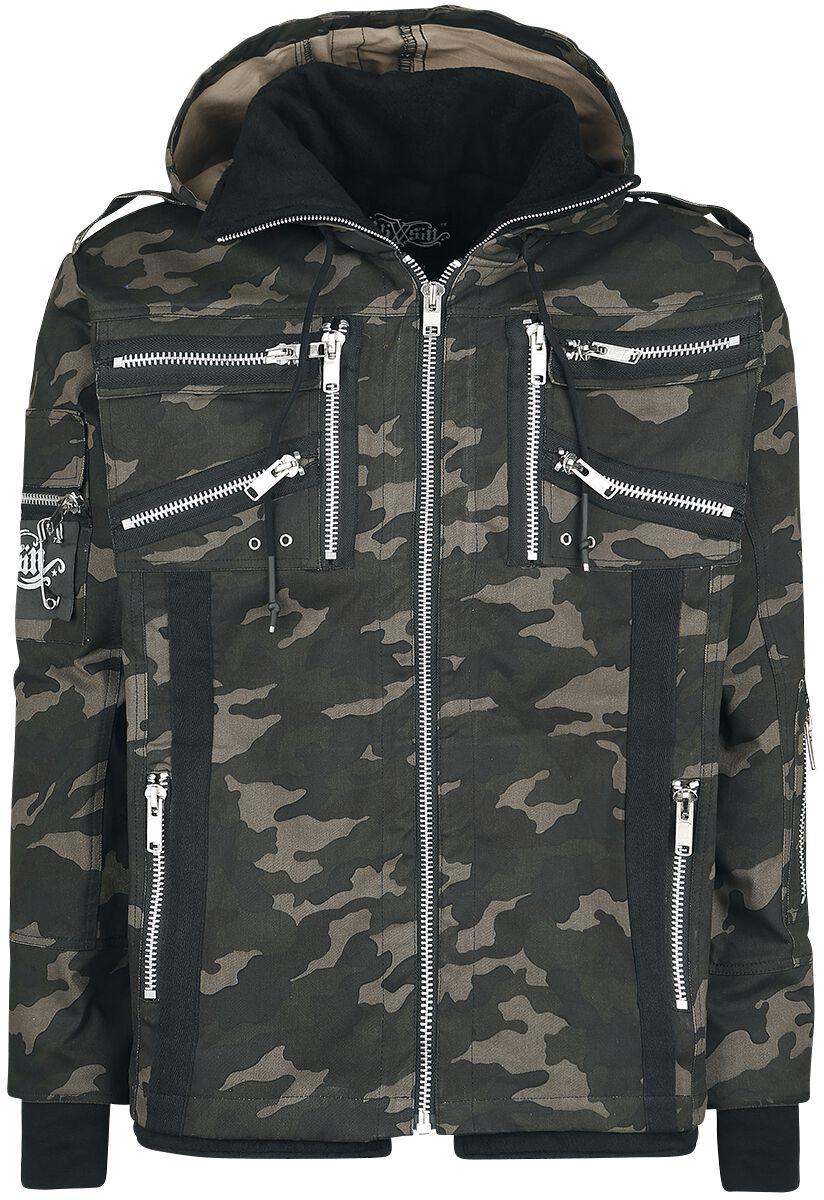 Image of   Vixxsin Braden Jacket Jakke camouflage