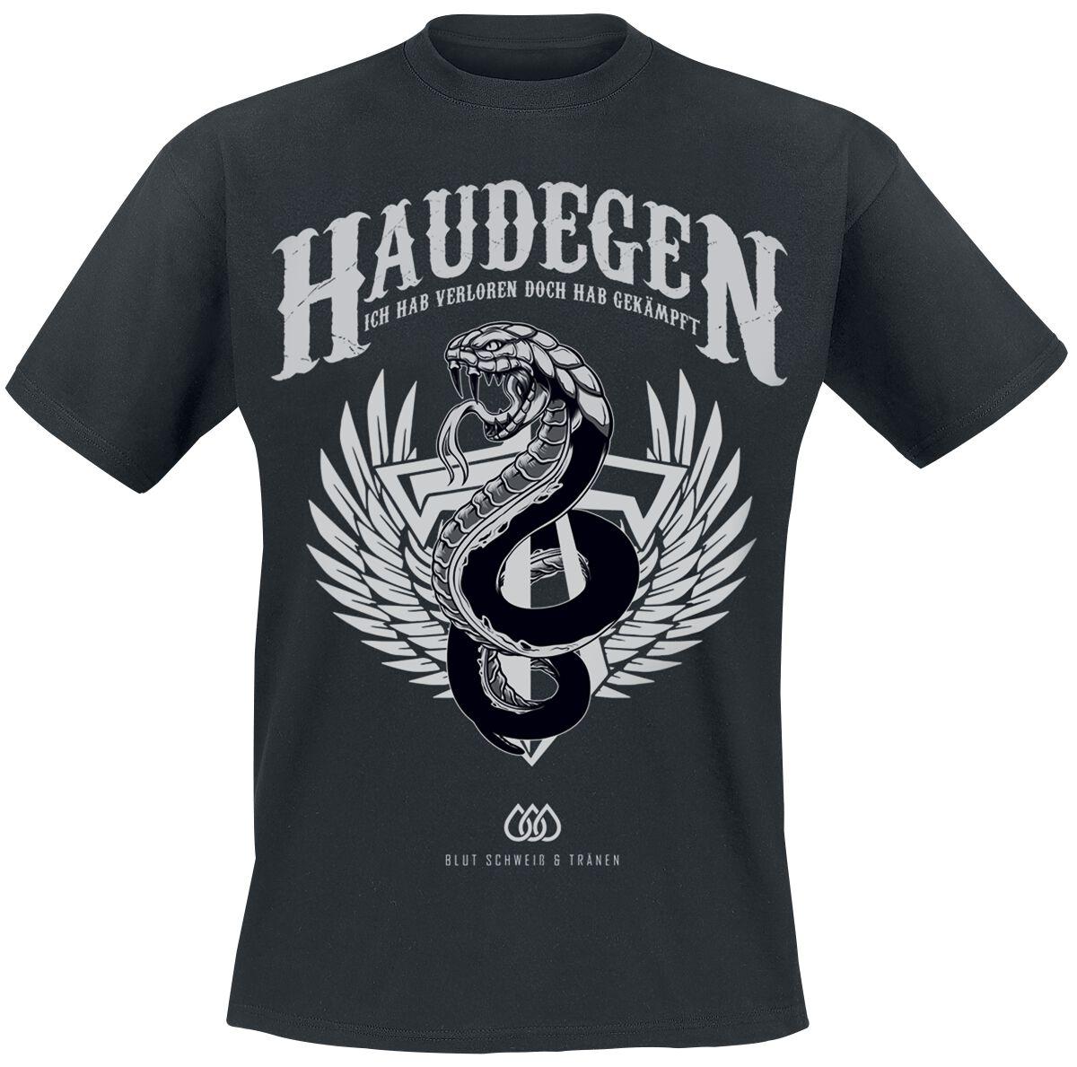 Zespoły - Koszulki - T-Shirt Haudegen Blut Schweiß und Tränen T-Shirt czarny - 364403
