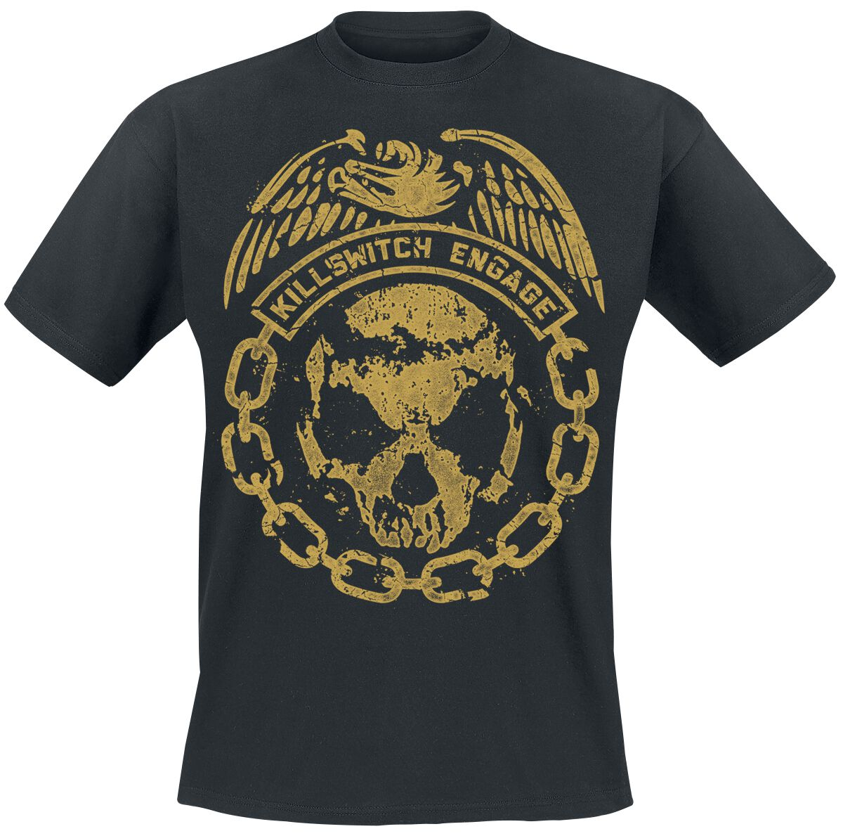 Zespoły - Koszulki - T-Shirt Killswitch Engage Crumble T-Shirt czarny - 364413