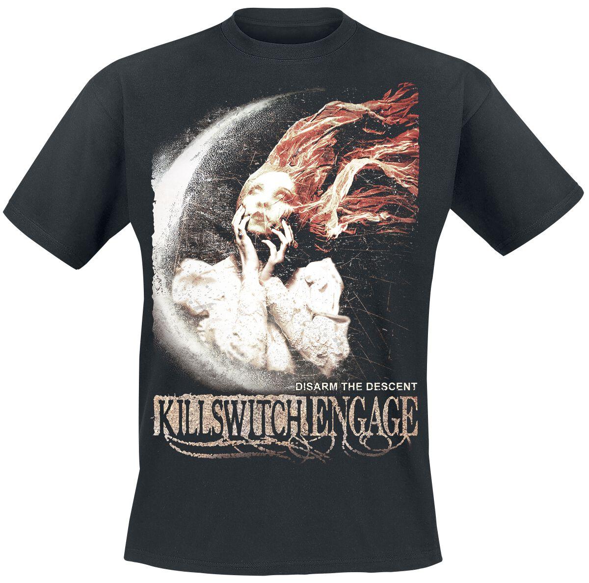 Zespoły - Koszulki - T-Shirt Killswitch Engage Disarm the descent T-Shirt czarny - 364415
