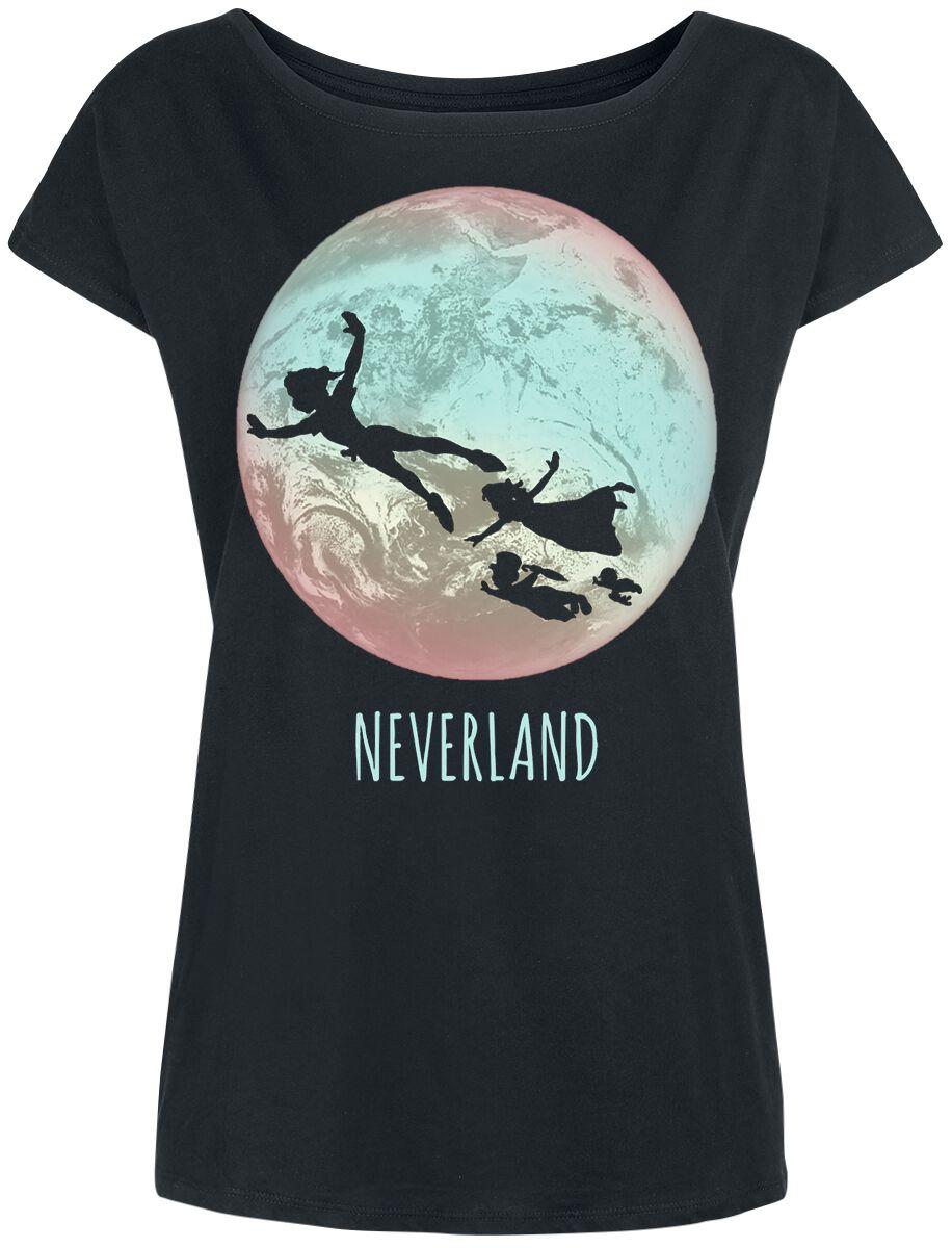 Piotruś Pan Neverland Koszulka damska czarny