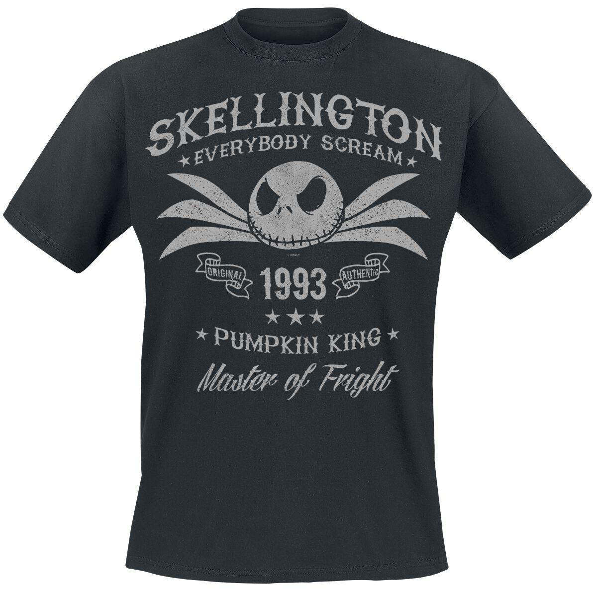 Image of   The Nightmare Before Christmas Jack Skellington T-Shirt sort