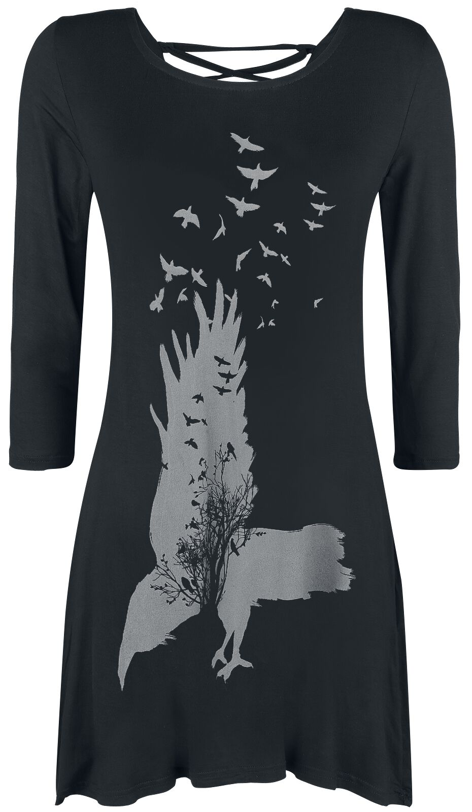Marki - Longsleeve - Longsleeve damski Innocent Crow Oak Longsleeve damski czarny - 364444