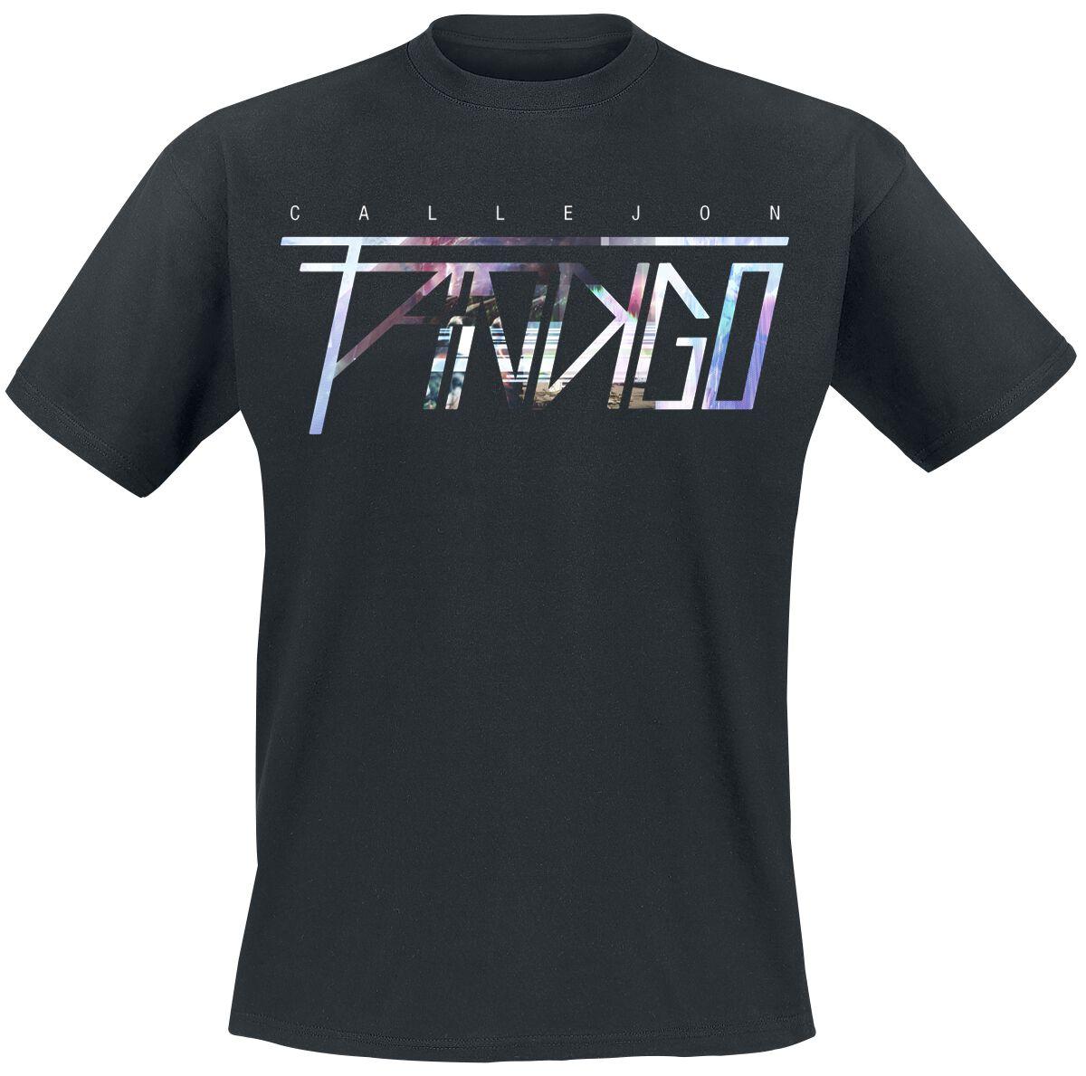 Zespoły - Koszulki - T-Shirt Callejon Fandigo Logo T-Shirt czarny - 364447