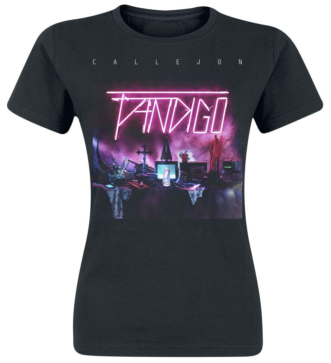 Zespoły - Koszulki - Koszulka damska Callejon Fandigo Artwork Koszulka damska czarny - 364450
