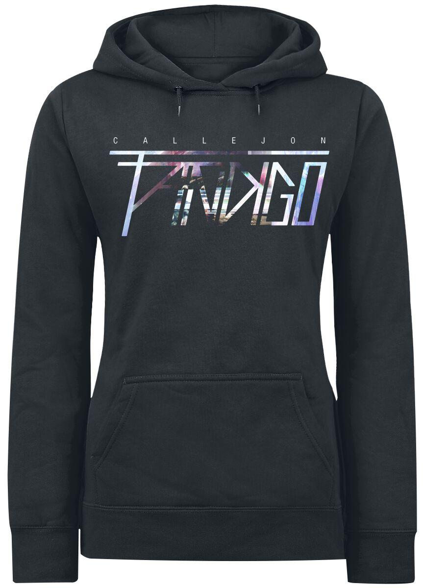 Zespoły - Bluzy z kapturem - Bluza z kapturem damska Callejon Fandigo Logo Bluza z kapturem damska czarny - 364463
