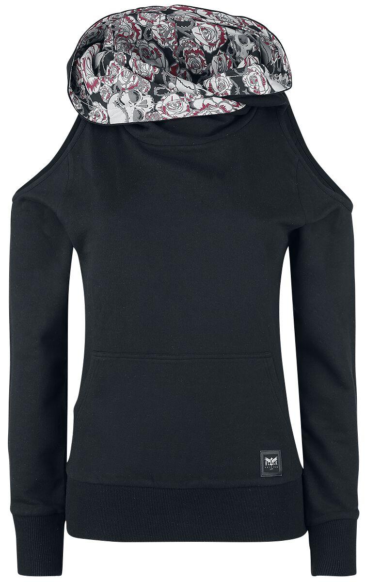 Black Premium by EMP I'm Broken Bluza z kapturem damska czarny