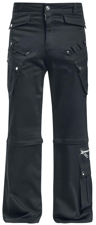 Marki - Spodnie długie - Spodnie Chemical Black Nixon Pant Spodnie czarny - 364518