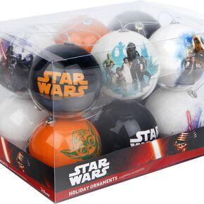Star Wars Set of 12 baubles Boule de Noël multicolore