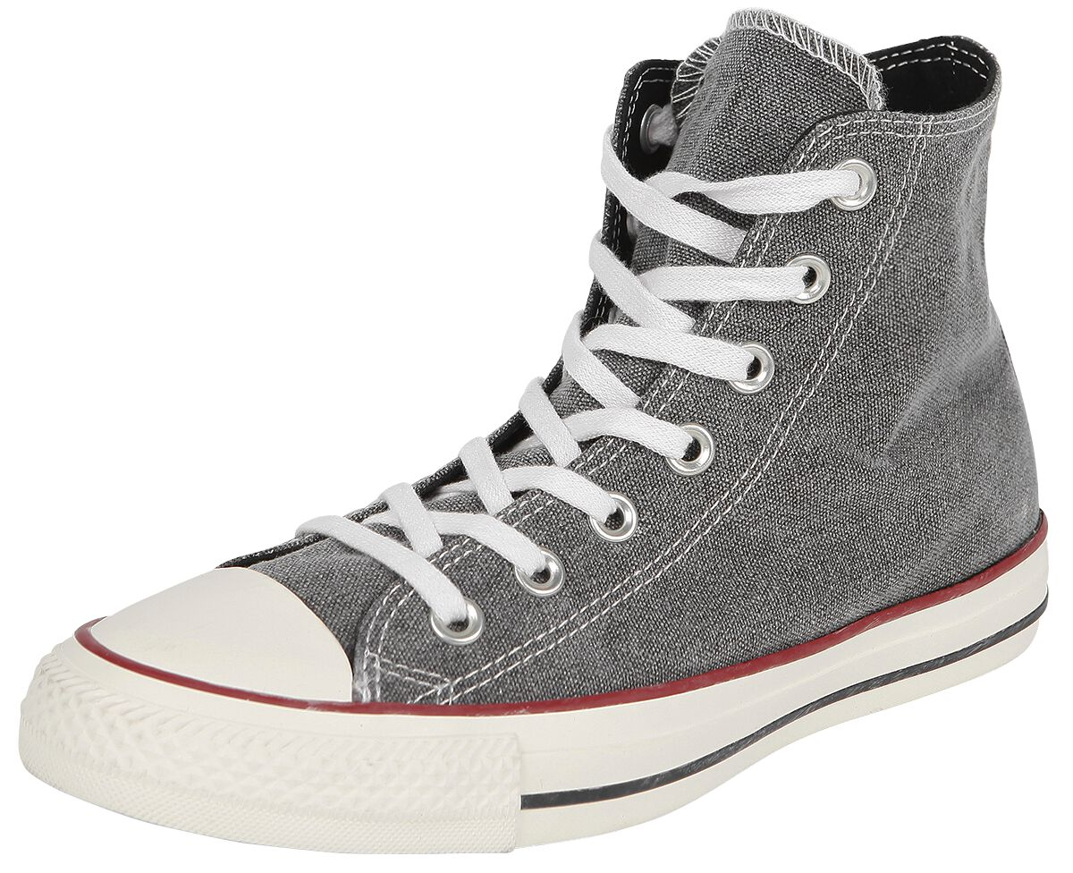 Image of   Converse Chuck Taylor All Star - Hi Sneakers sort-hvid