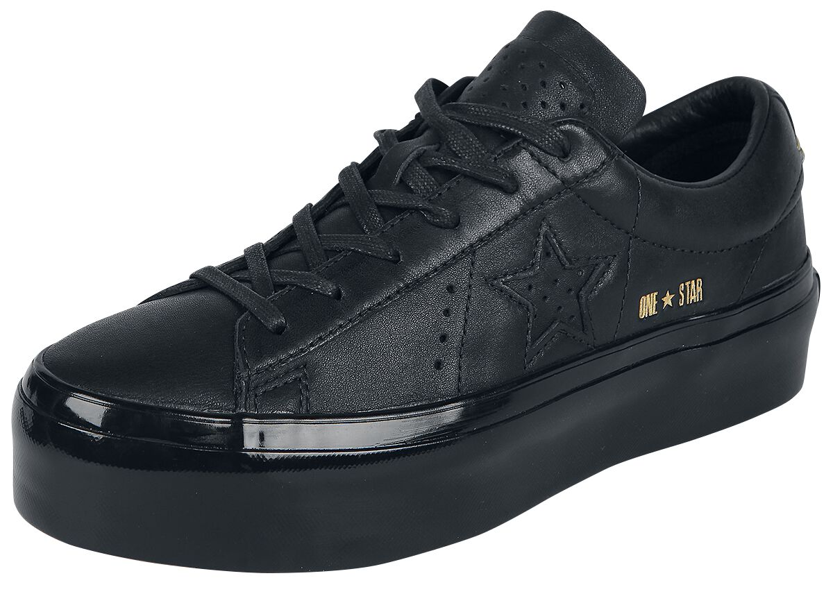 Image of   Converse One Star Platform - OX Sneakers sort