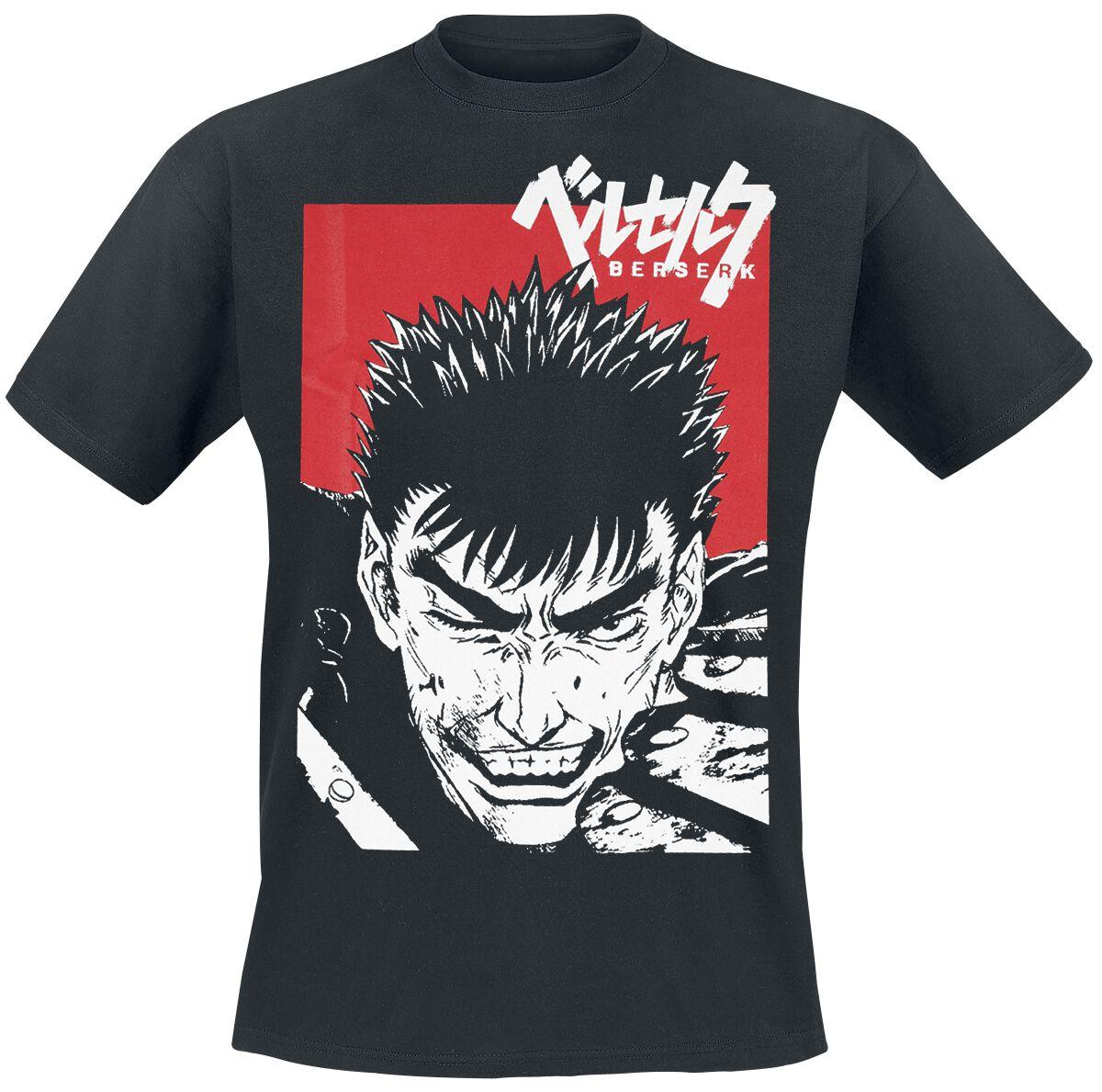 Merch dla Fanów - Koszulki - T-Shirt Beserk Guts T-Shirt czarny - 364650