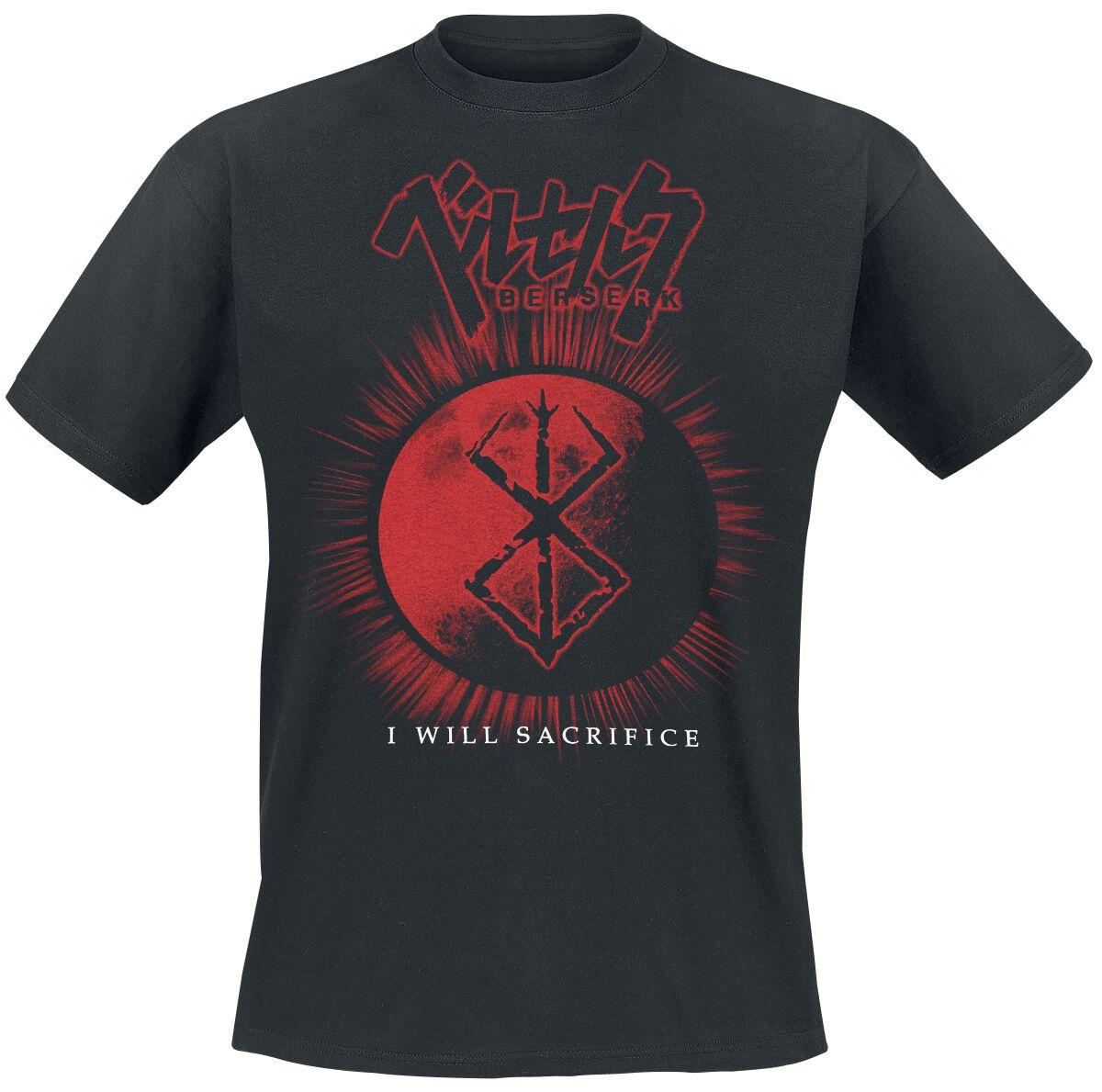 Merch dla Fanów - Koszulki - T-Shirt Beserk Logo T-Shirt czarny - 364655