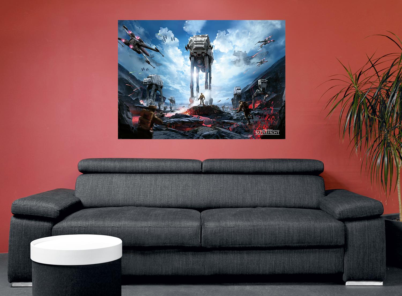 Star Wars Battlefront - War Zone Plakat multifarvet