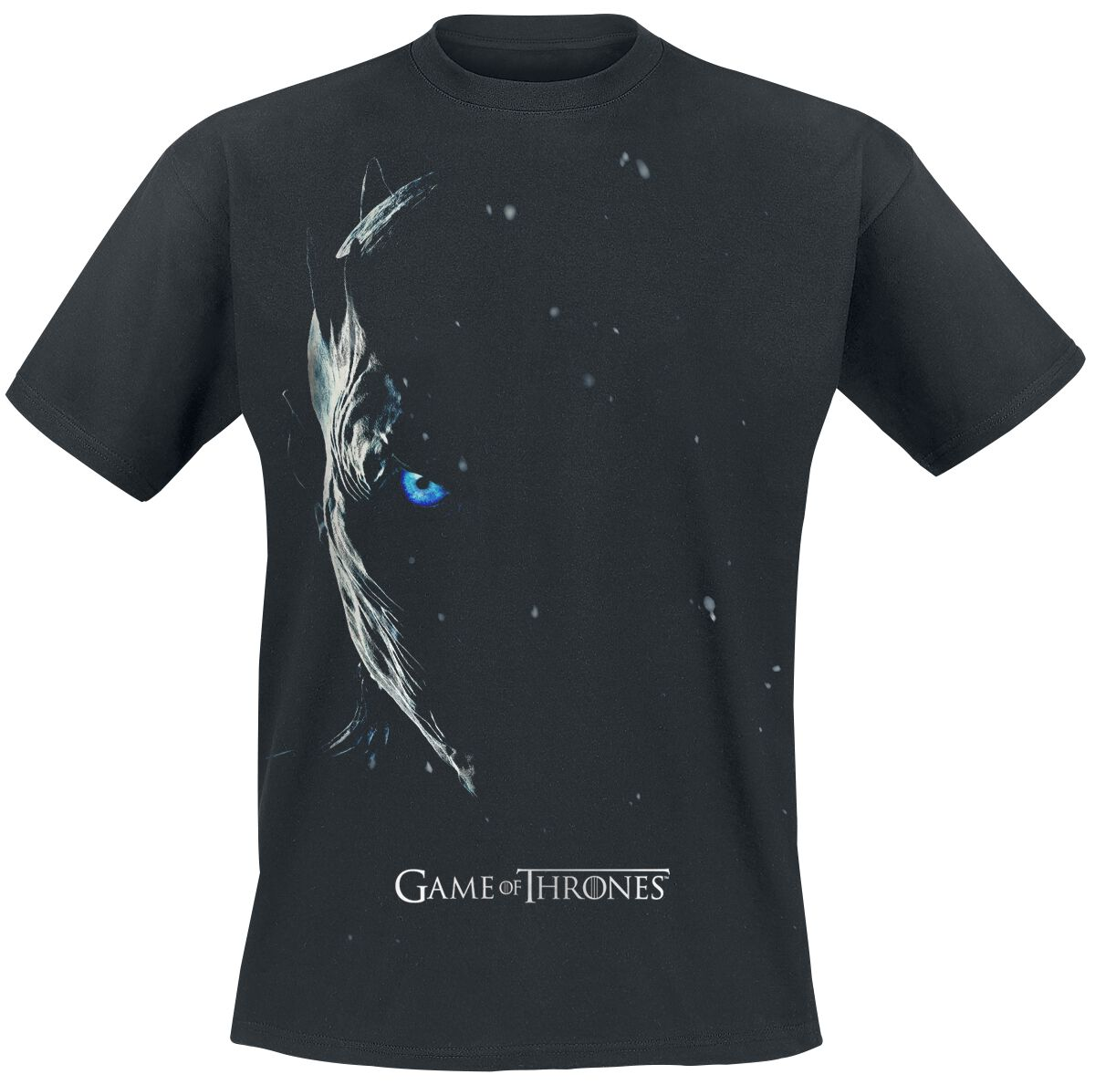 game of thrones season 7 poster nachtk nig t shirt schwarz ebay. Black Bedroom Furniture Sets. Home Design Ideas