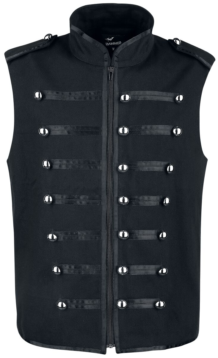 Image of   Banned Military Drumemr vest Vest sort