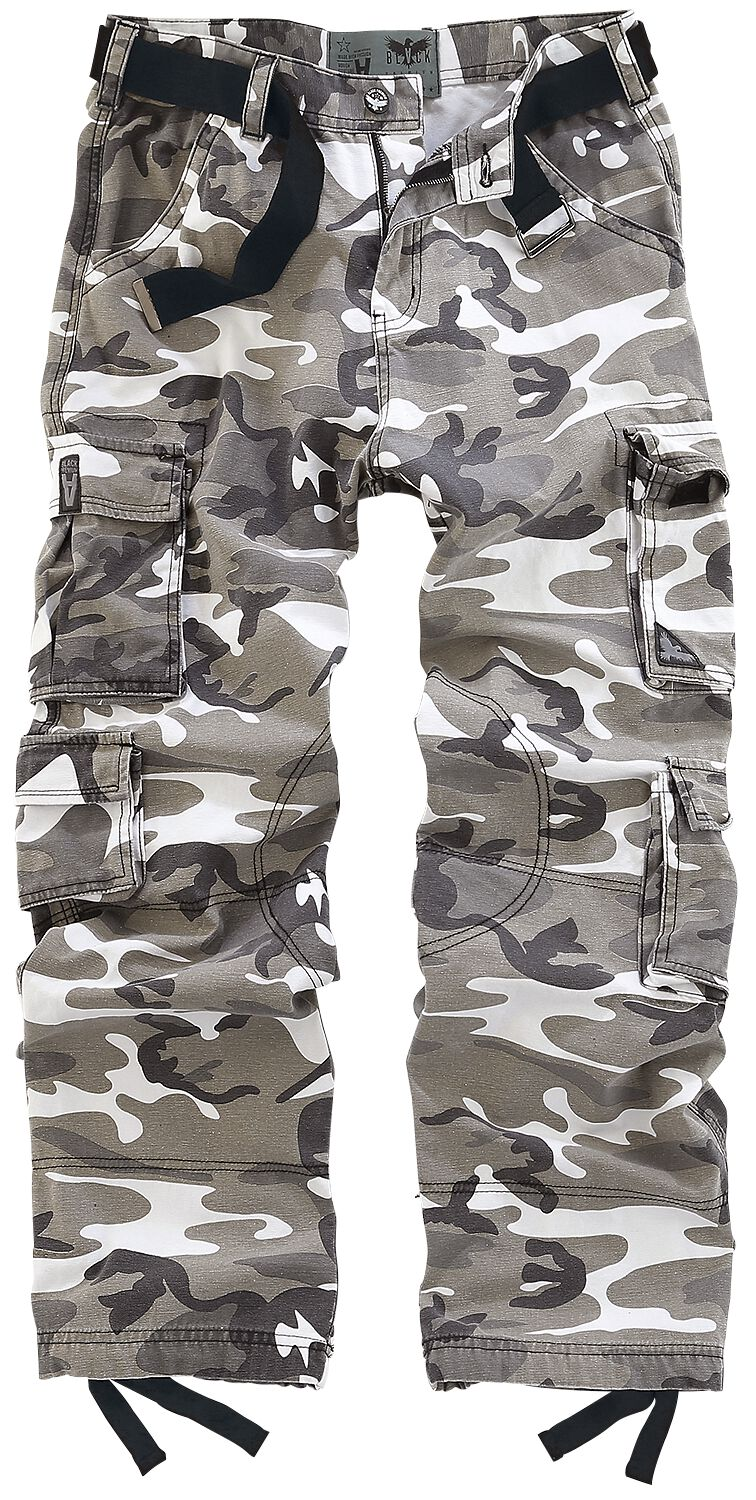 Image of   Black Premium by EMP Army Vintage Trousers Bukser camouflage