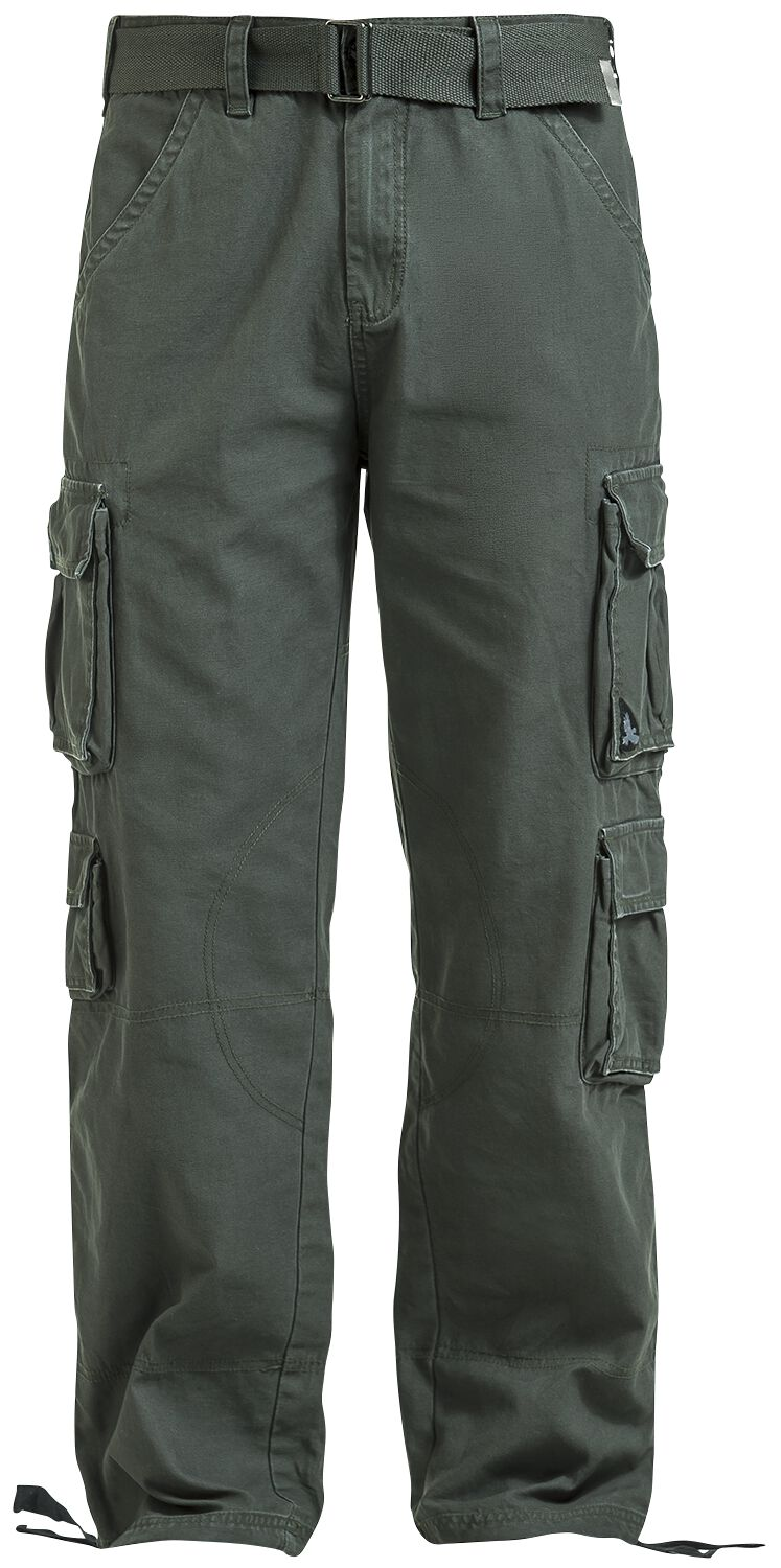 Image of   Black Premium by EMP Army Vintage Trousers Bukser khaki