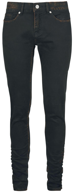 Image of   Black Premium by EMP Bouncing Megan Girlie jeans sort