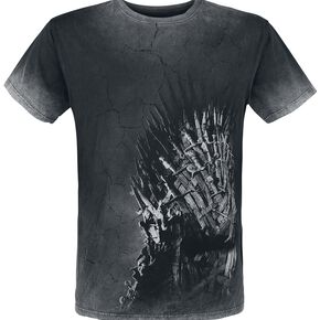 Game Of Thrones Le Trône De Fer T-shirt noir/gris