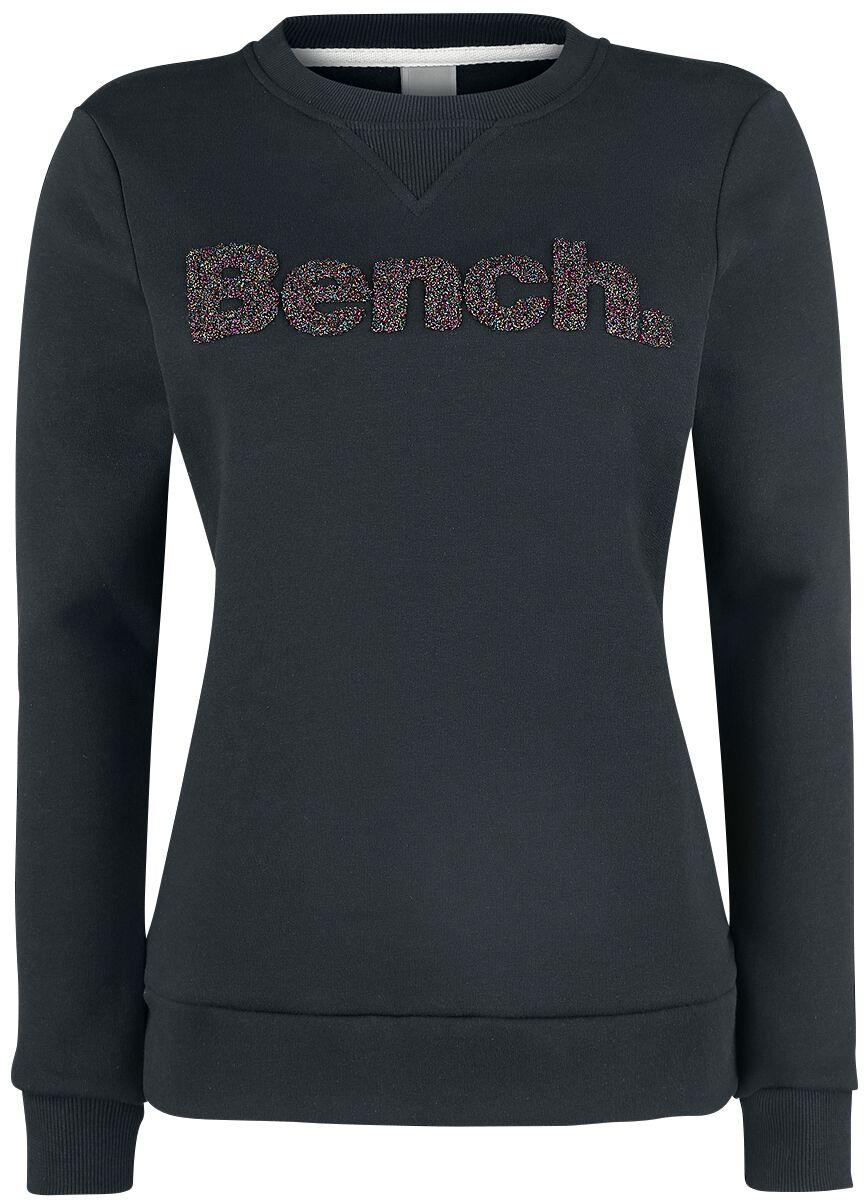 Bench Logo Crew Neck Bluza damska czarny