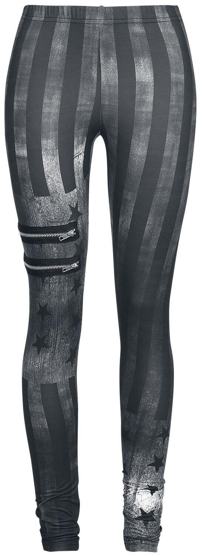Image of   Rock Rebel by EMP Built For Comfort Leggings sort-grå