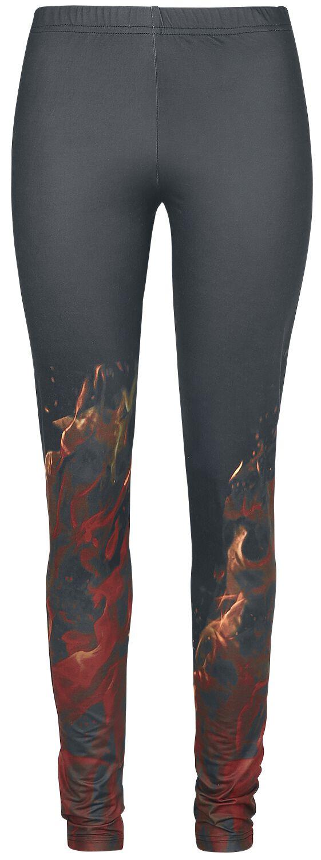 Image of   Rock Rebel by EMP Burning Bright Leggings sort