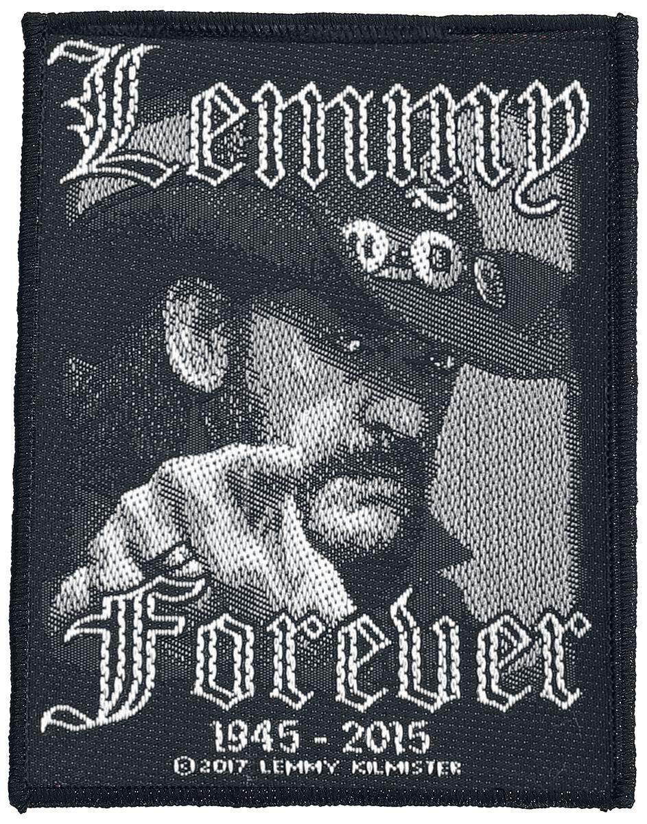 Motörhead Lemmy Kilmister - Forever Patch schwa...