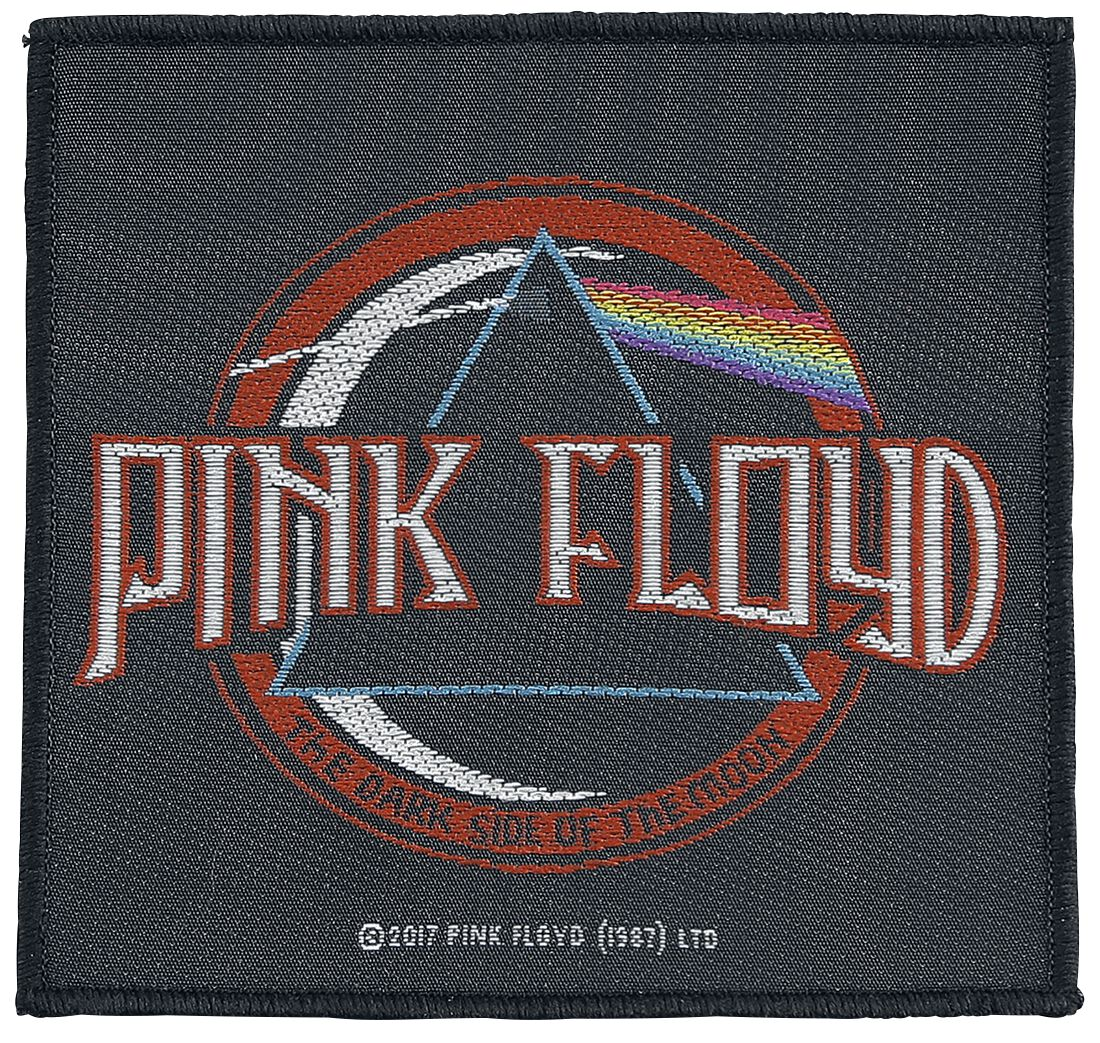 Image of   Pink Floyd Distressed Dark Side Of The Moon Patch multifarvet