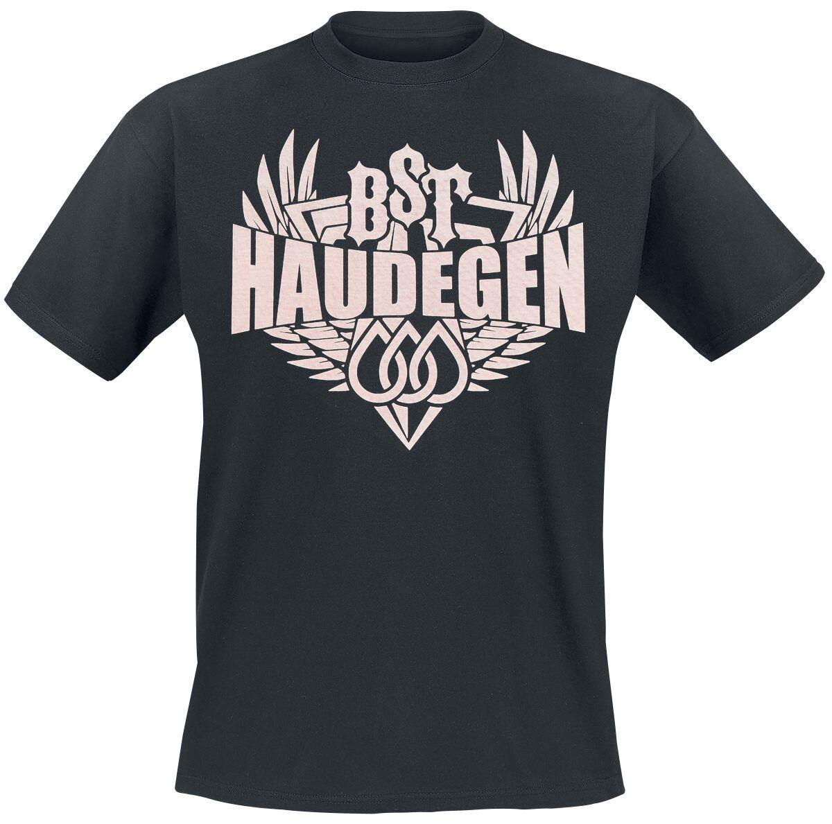 Zespoły - Koszulki - T-Shirt Haudegen Tränen, Schwert & Flügel T-Shirt czarny - 365039