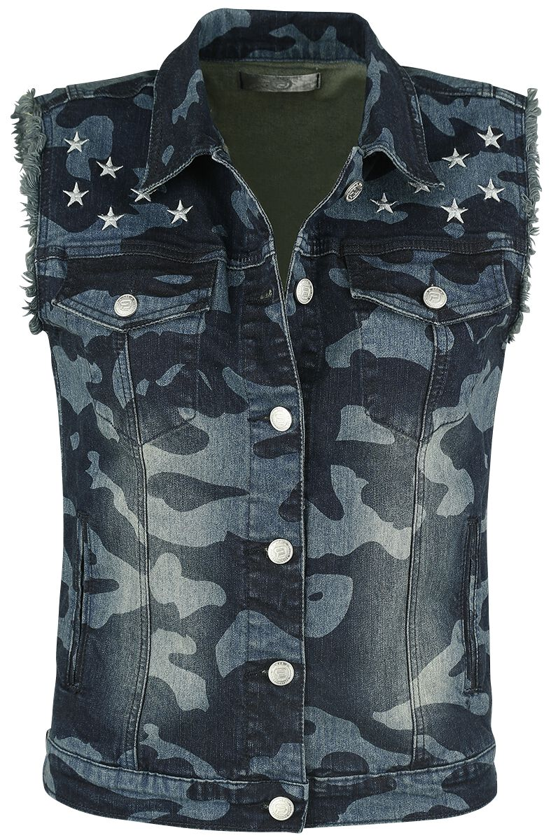 Image of   RED by EMP Along For The Ride Girlie vest camouflage