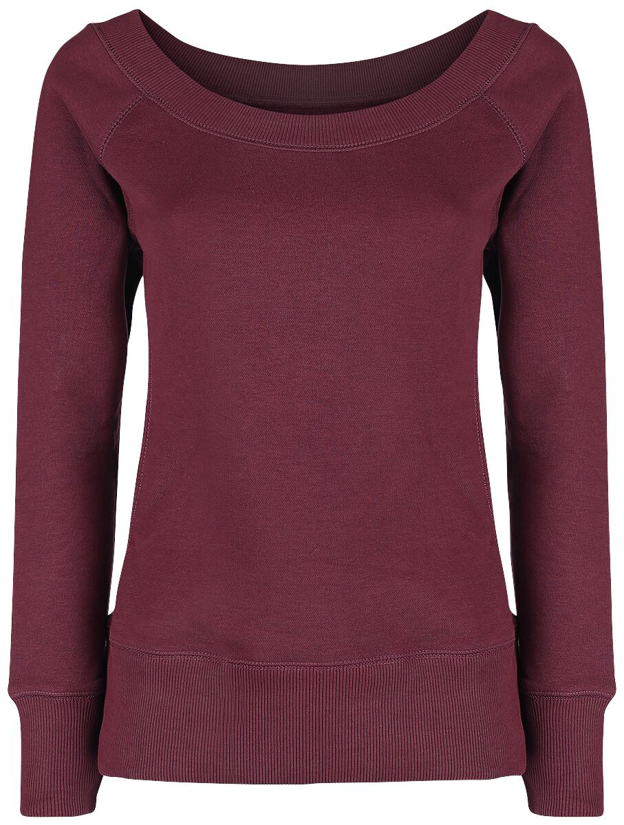 Image of   RED by EMP Come On Get It Girlie sweatshirt rød