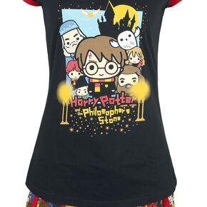 Harry Potter Chibi Allover Pyjama multicolore