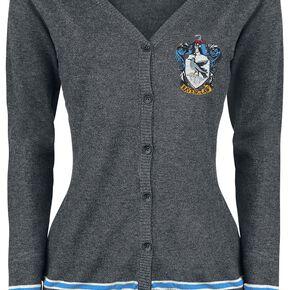 Harry Potter Emblème De Serdaigle Cardigan pour Femme gris chiné