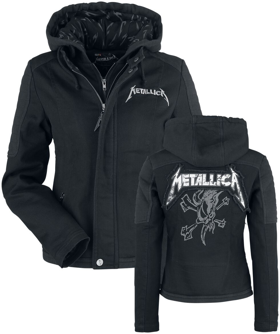 Image of   Metallica EMP Signature Collection Girlie jakke sort