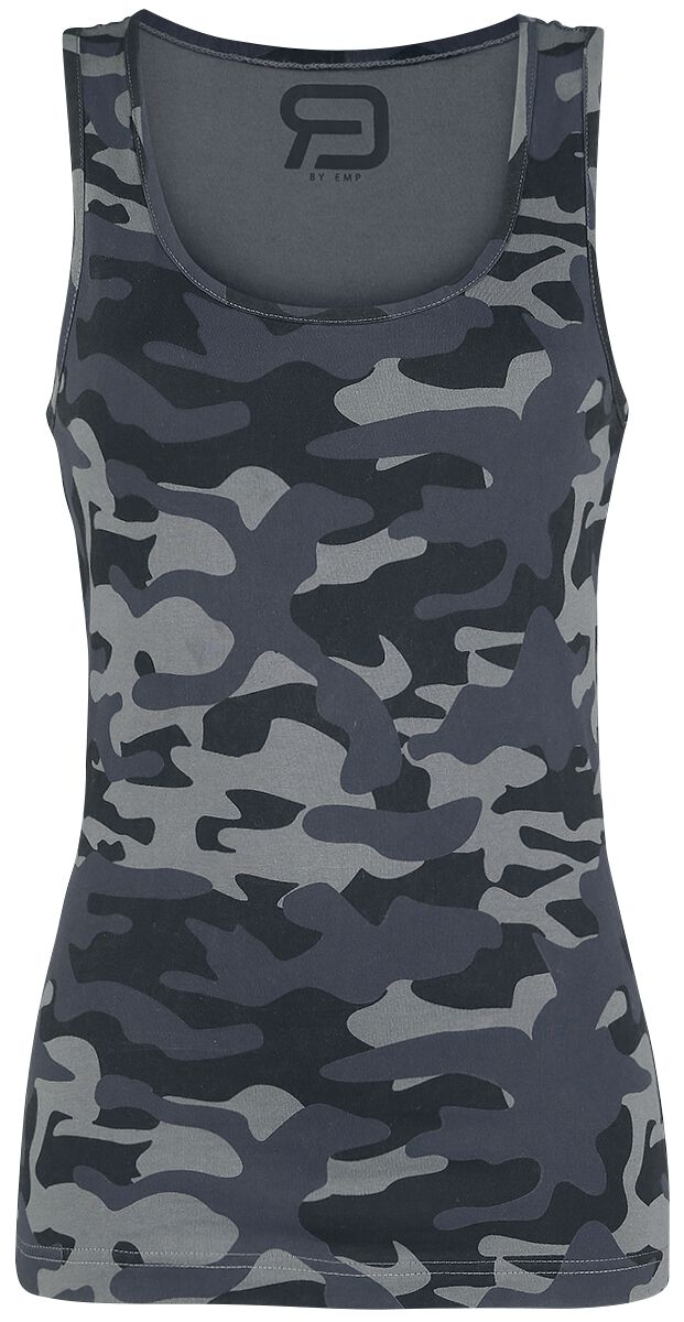 Image of   RED by EMP Back On Top Girlie top camouflage