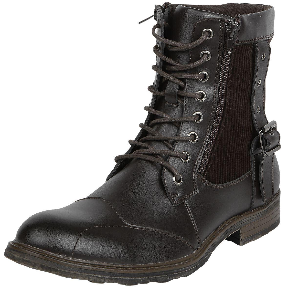 Black Premium by EMP Oldschool Traveler Boots b...