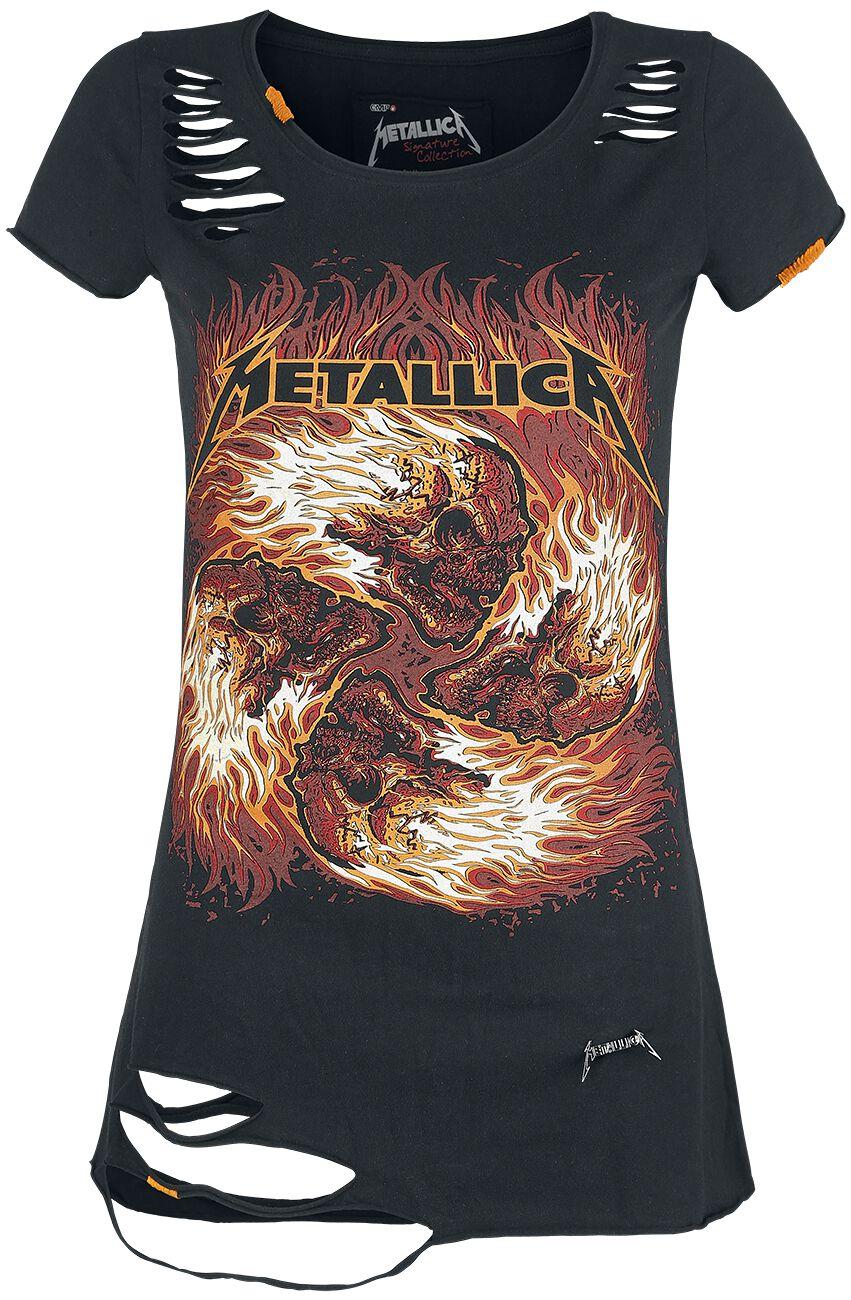 Image of   Metallica EMP Signature Collection Girlie trøje sort