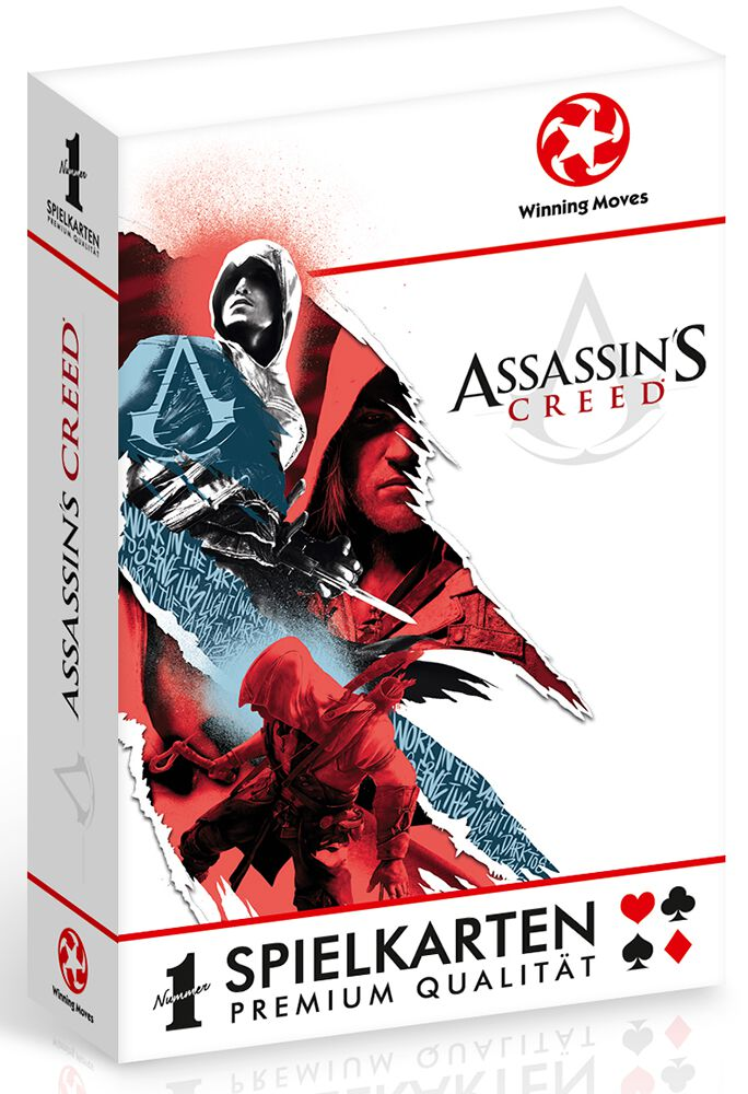 Image of   Assassin's Creed Assassin's Creed playing cards Spillekort Standard