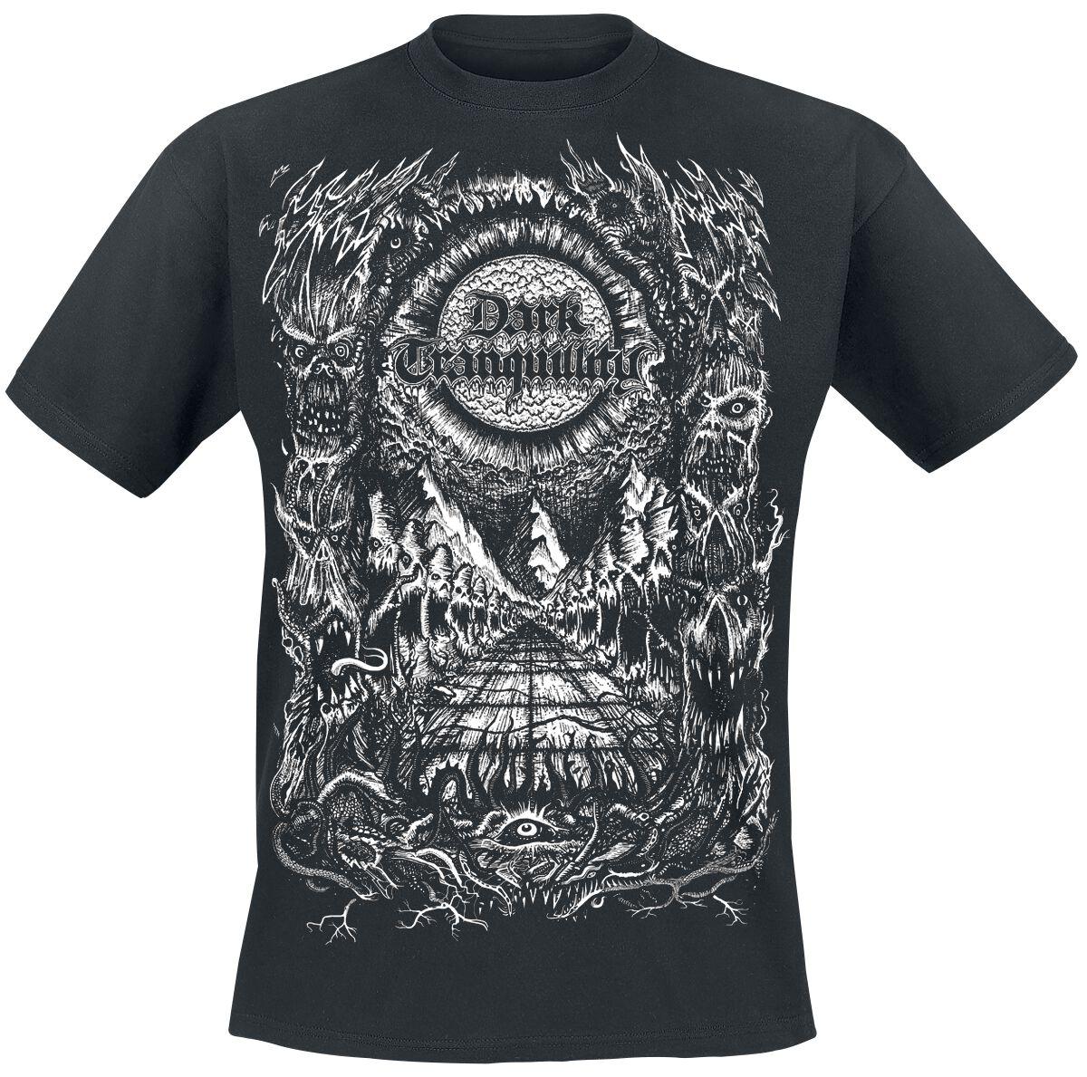 Zespoły - Koszulki - T-Shirt Dark Tranquillity Old Skool T-Shirt czarny - 365251