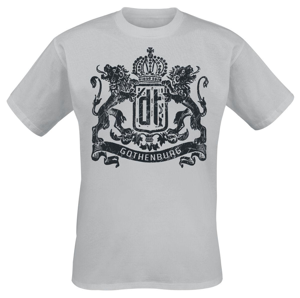 Zespoły - Koszulki - T-Shirt Dark Tranquillity Gothenburg T-Shirt ciemnoszary - 365254