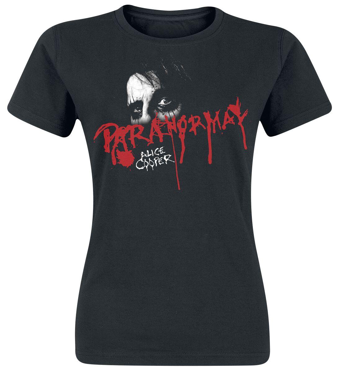 Zespoły - Koszulki - Koszulka damska Alice Cooper Paranormal Eyes Koszulka damska czarny - 365294