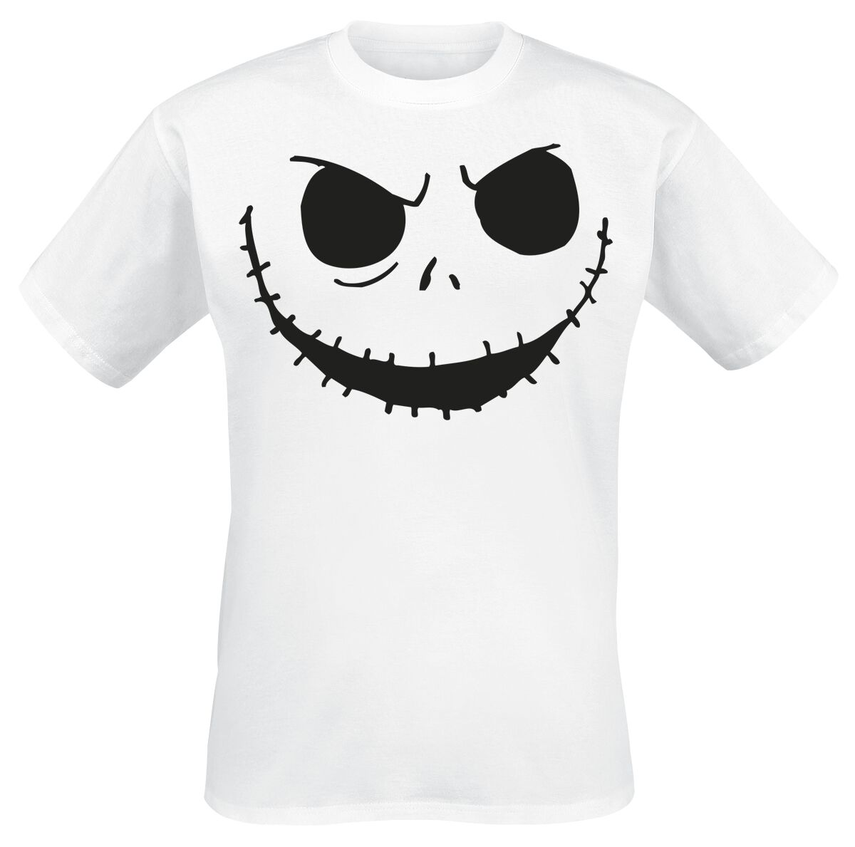 Image of   The Nightmare Before Christmas Jack T-Shirt hvid