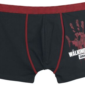The Walking Dead Hand Boxershort noir/rouge