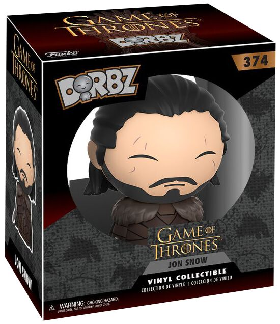 Image of   Game Of Thrones Jon Snow Dorbz Vinyl Figure 374 Samlefigur Standard