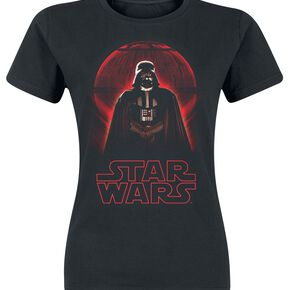 Star Wars Rogue One - Dark Vador T-shirt Femme noir