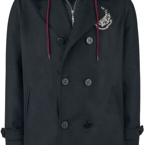 Harry Potter Hogwarts Crest Veste noir