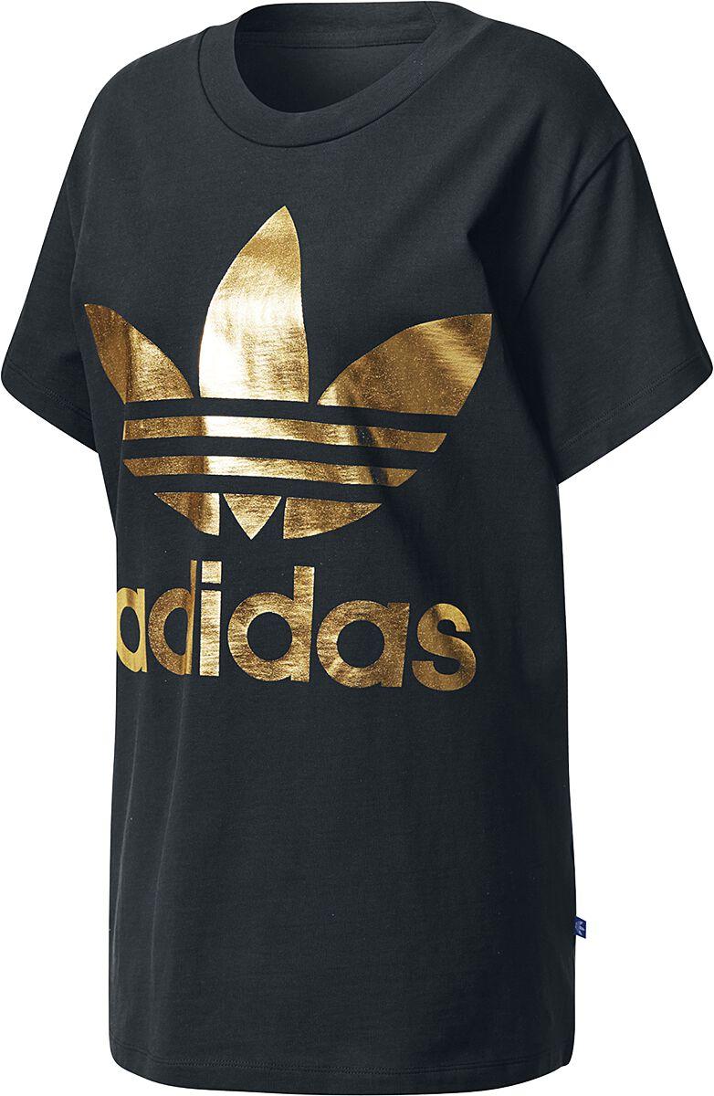Image of   Adidas Big Trefoil Tee Girlie trøje sort