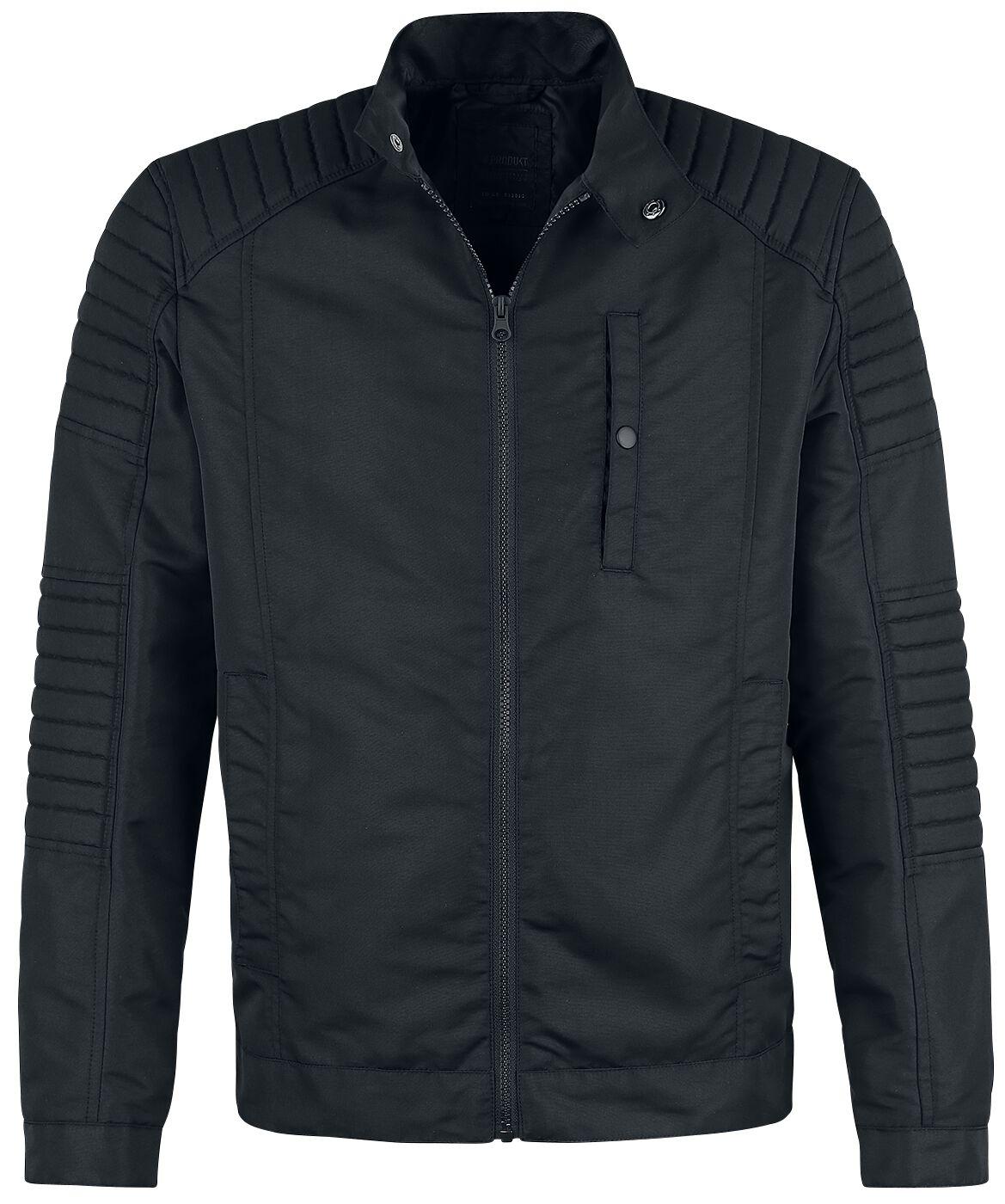 Marki - Kurtki - Kurtka Produkt Hardcore Jacket Kurtka czarny - 365774