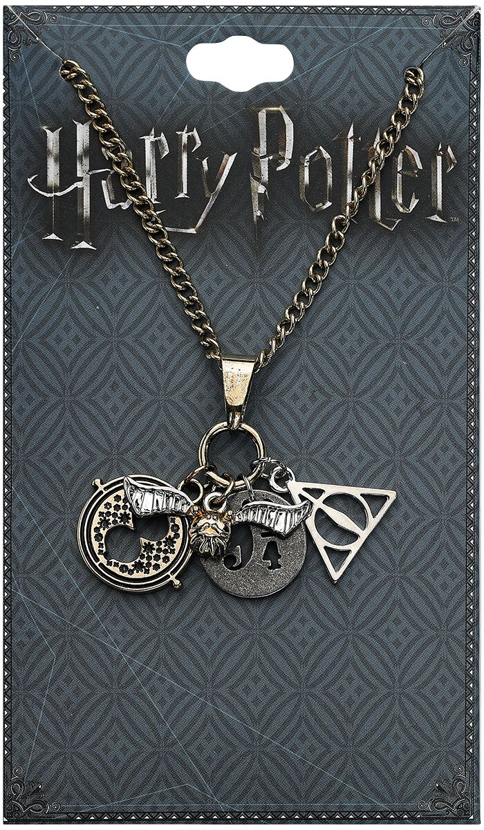 Image of   Harry Potter Charms Halskæde multifarvet